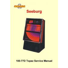 1976 Service manual 100–77D – Topaz