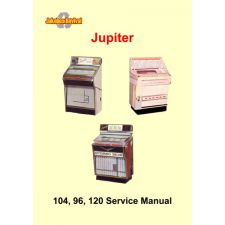 Service manual Jupiter models 104/S, M96–B96 , 120