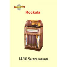 1952 Service manual model 1436 fireball