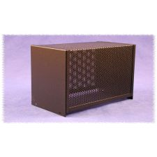 1451-26BK3 Vent chassis cover 406 x 203 x 132 mm zwart