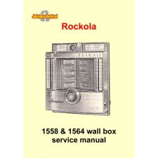 Service manual wall box 1558 & 1564