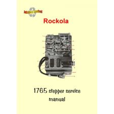 Service manual stepper 1765