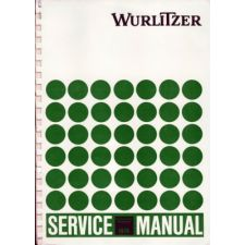 Wurlitzer 1978 phonograph service manual