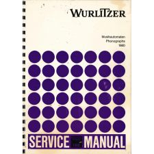 Wurlitzer 1980 phonograph service manual
