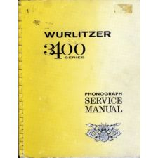 Wurlitzer 3400 series phonograph service manual