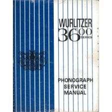 Wurlitzer 3600 series phonograph service manual