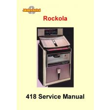 1964 Service manual model 418 Rhapsody II