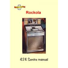 1964 Service manual model 424 Princess Royal