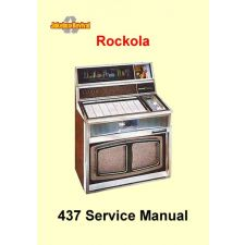1968 Service manual model 437 Ultra