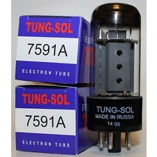Buis 7591A matched Tungsol