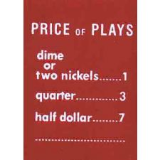 AMIprice of plays inch plastic (I&J)