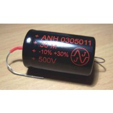 Axiale High End elco 100 uF 500 Volt