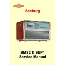 1960 Service manual '1000' Background Music System BMS2 & SEP1