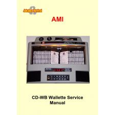 Service manual wall box Rowe CD wallette