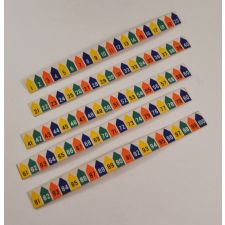 Seeburg 200LU-1 decals for library unit - part# 246641