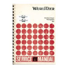 Wurlitzer 1981 phonograph service manual