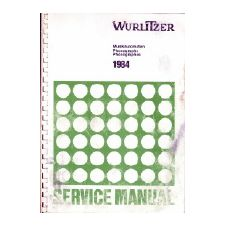Wurlitzer 1984 phonograph service manual