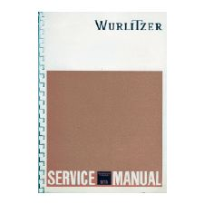 Wurlitzer 1970 phonograph service manual