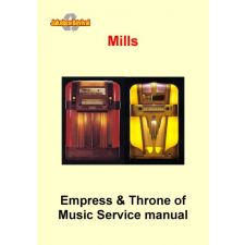 Service manual Mills Empress & Throne of Music