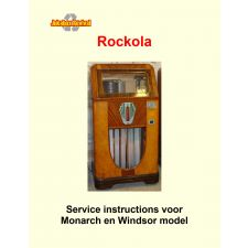1938 Service instructions voor Monarch en Windsor model