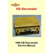 KB Discomatic manual