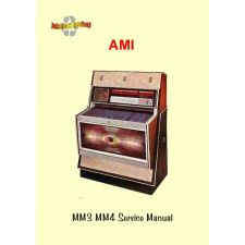 1969 Service manual MM 3-4 Music Miracle / Trimount