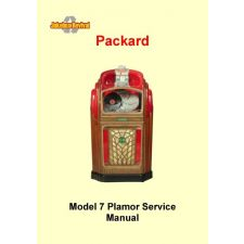 Service manual Packard model 7