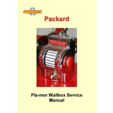 Service manual for Packard Pla–Mor wallbox