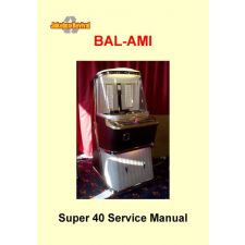 Service manual Bal–AMI super 40