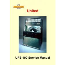 Service manual United UPB–100