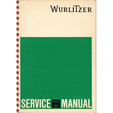 Wurlitzer 1971 phonograph service manual