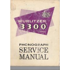 Wurlitzer 3300 phonograph service manual