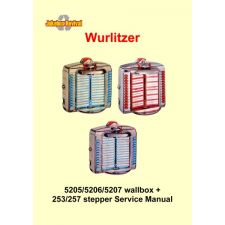 Service manual 5205, 5206 and 5207 wallbox + 253 and 257 stepper