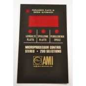 Rowe AMI Selectie display card - Duits